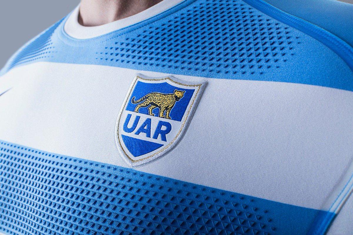Los Pumas presentaron su nueva camiseta Nike para el Rugby Championship