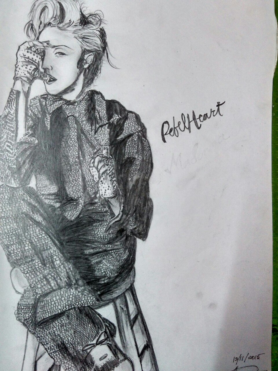 Happy Birthday MADONNA.. Your gifts I hope you\ll like it... I made this for you.. Please please see it