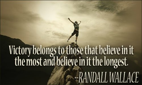 Victory belongs to those that #believe in it the most and believe in it the longest #courage #fortitude #belief #victory #challenge #faith<br>http://pic.twitter.com/Da1VqtXQew