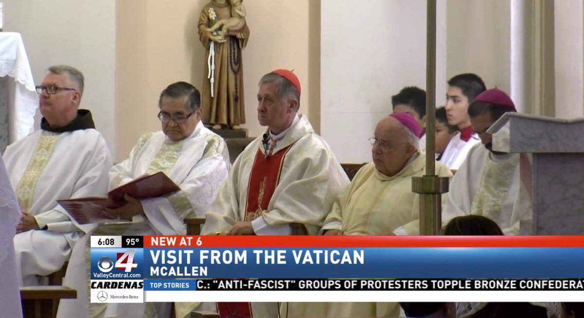 Chicago Cardinal presents $100,000 to McAllen church on behalf of the Vatican https://t.co/MXNg9y624D #rgv