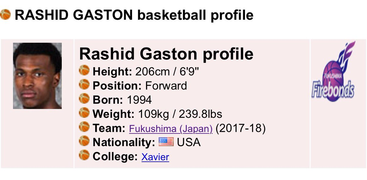 Lil Bro has signed his 1st Professional Basketball Contract. Congrats RaShid Gaston!!!  #FeedDaShid #Gaston #ItsOfficial #Japan #Firebonds<br>http://pic.twitter.com/G2ru0UfokW