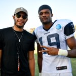 Thanks to the @dallasmavs' @sdotcurry for coming out and showing love at today's practice. #CowboysCamp