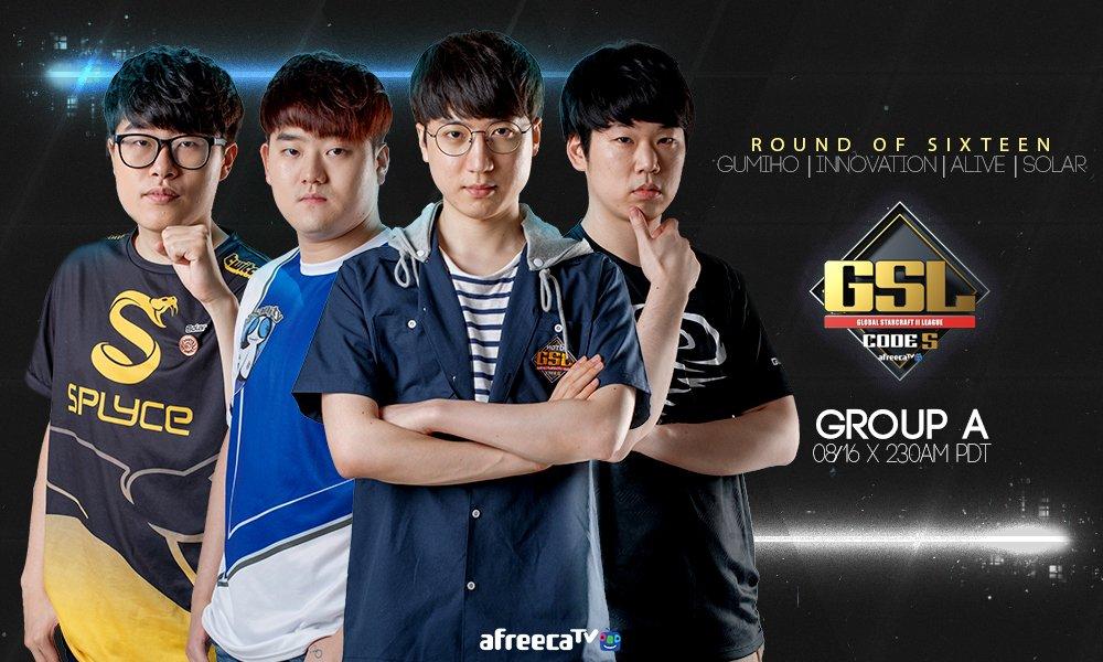 2017 GSL Code S 3. Szezon 2. csoportkör - A csoport