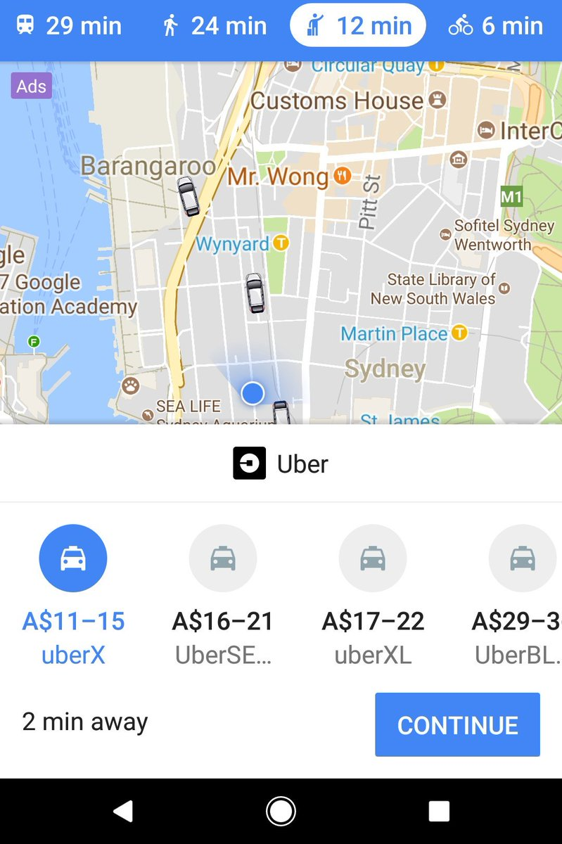 Did anyone notice you can now book your uber ride through Google Maps #GoogleMaps  #uber @Uber<br>http://pic.twitter.com/ist3Rxi3D9