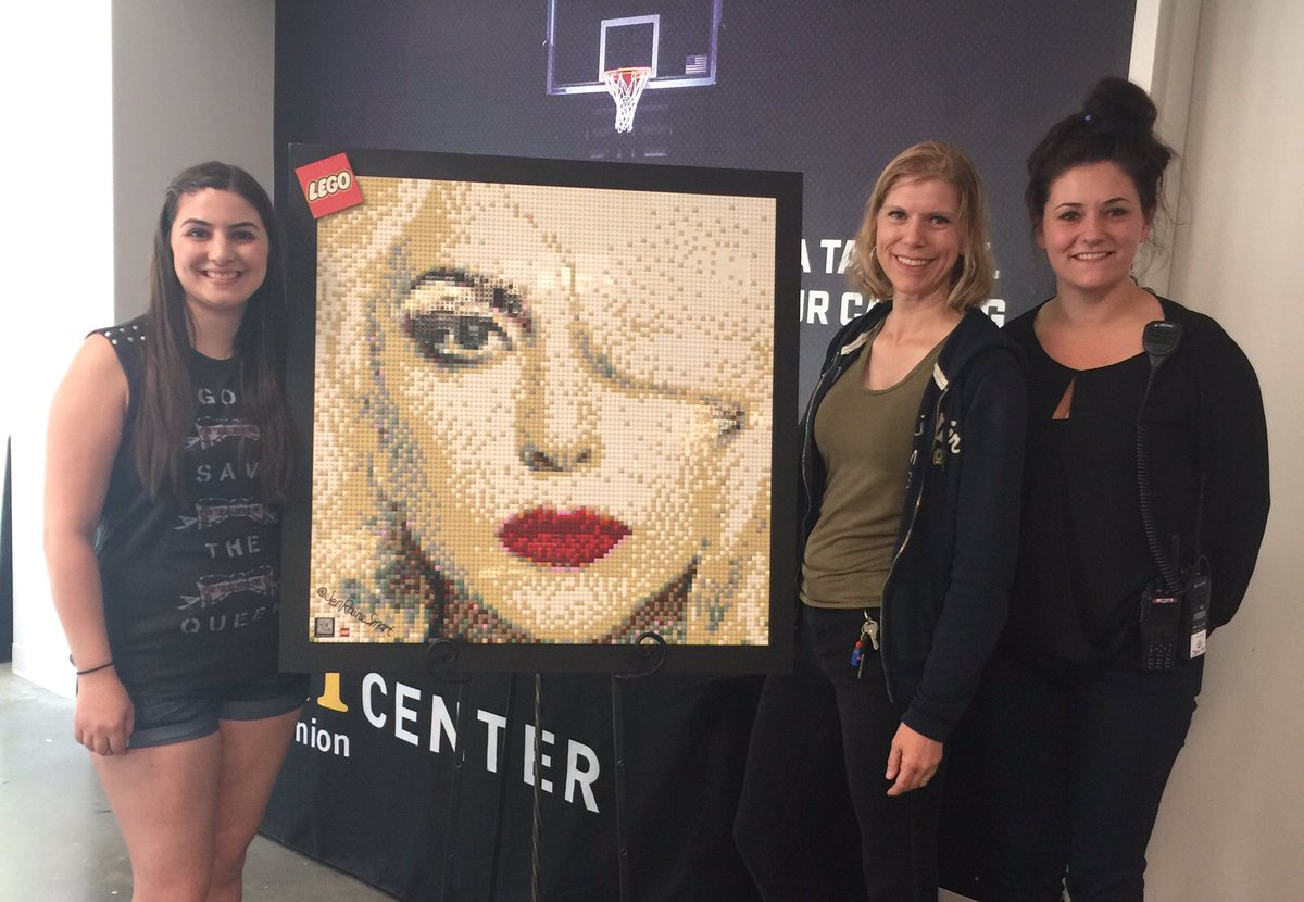 Lots of #LegoLove was had today @Golden1Center! Thanks, Jennifer, for feeling the magic with us! #LegoGaga #Lego #Gaga #Joanne @ladygaga<br>http://pic.twitter.com/QeMstaWTyy