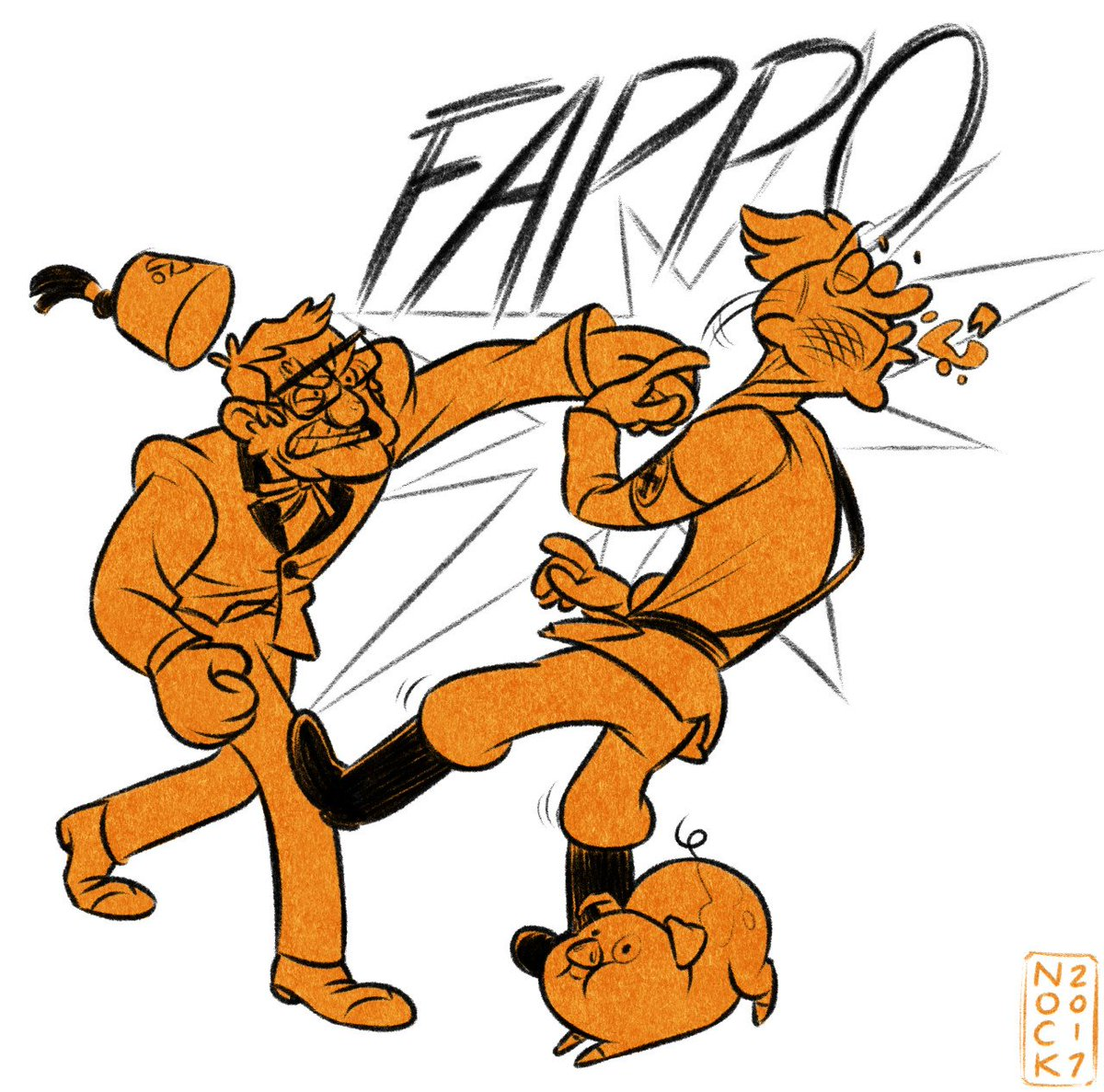 @_AlexHirsch Good thing I love drawing fictional people punching Nazis! https://t.co/9JVQnXr6dO