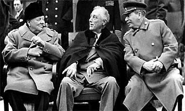 2/The ultimate case of this is in World War 2, when the U.S. and Britain allied with Joseph Stalin to defeat Hitler.