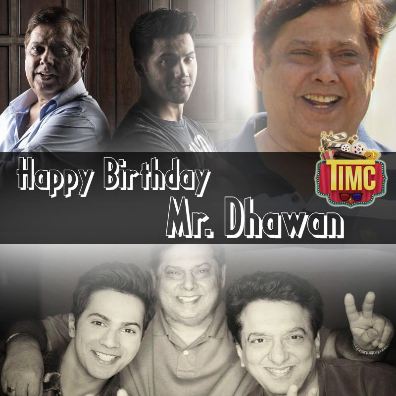 A very #happybirthday to the #comedy director #DavidDhawan<br>http://pic.twitter.com/hQDMiUEfW0
