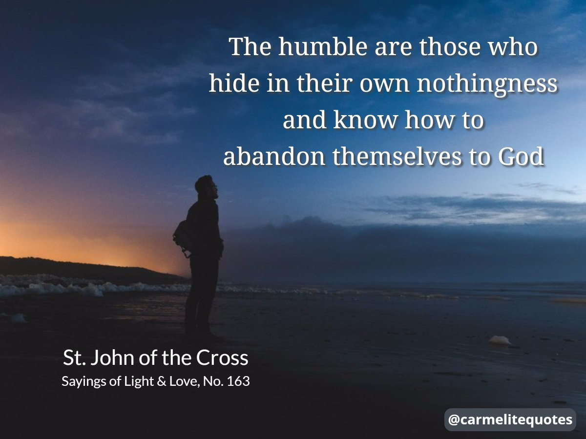 Carmelite Quotes On Twitter Trust In The Lord With All Your Heart