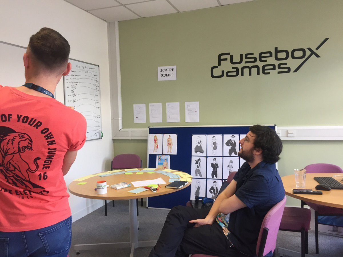"Fusebox Games on Twitter: ""Fail to prepare and prepare to fail. We put hours  of prep in our stories for our games - an essential part of the art of  story ..."