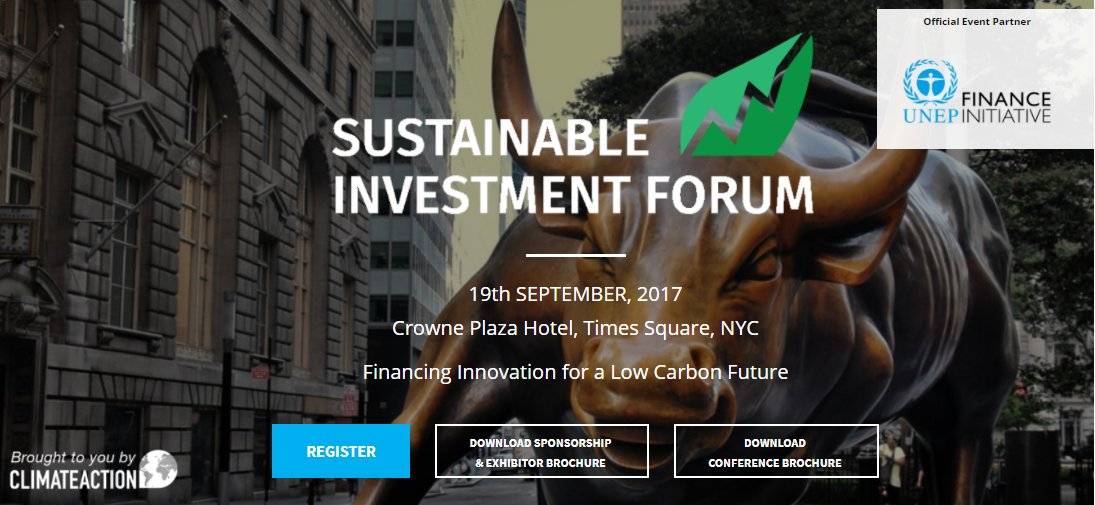 Interested in green portfolios? Register now to attend #SINV17 and join 300+ delegates  http://www. sustainableinvestmentforum.org / &nbsp;   #Fintech #Investors #VC <br>http://pic.twitter.com/N0EkkF5jLV