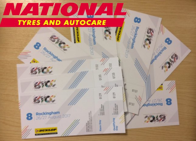 #BTCC GIVEAWAY - ROCKINGHAM 26th/27th August 2017. 2 tickets to #win. To enter: #LIKE, #RT + #FOLLOW. Good luck!   #Competition #Free #Comp<br>http://pic.twitter.com/qZPAWfzwJz