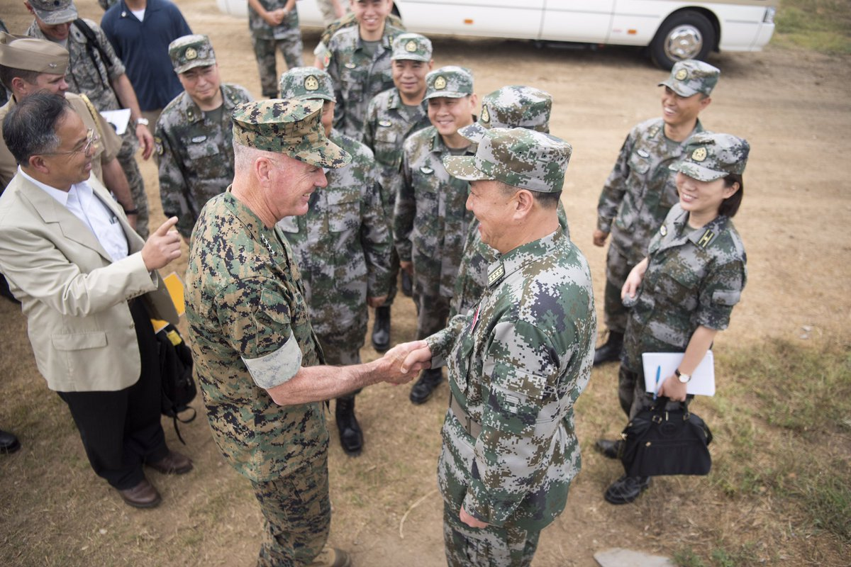 #GenDunfordinAsia: In Shenyang #China for military demo, most senior U.S. official to visit. Find more photos here:  http://www. Facebook.com/thejointstaff  &nbsp;  <br>http://pic.twitter.com/eB6wJMUigf