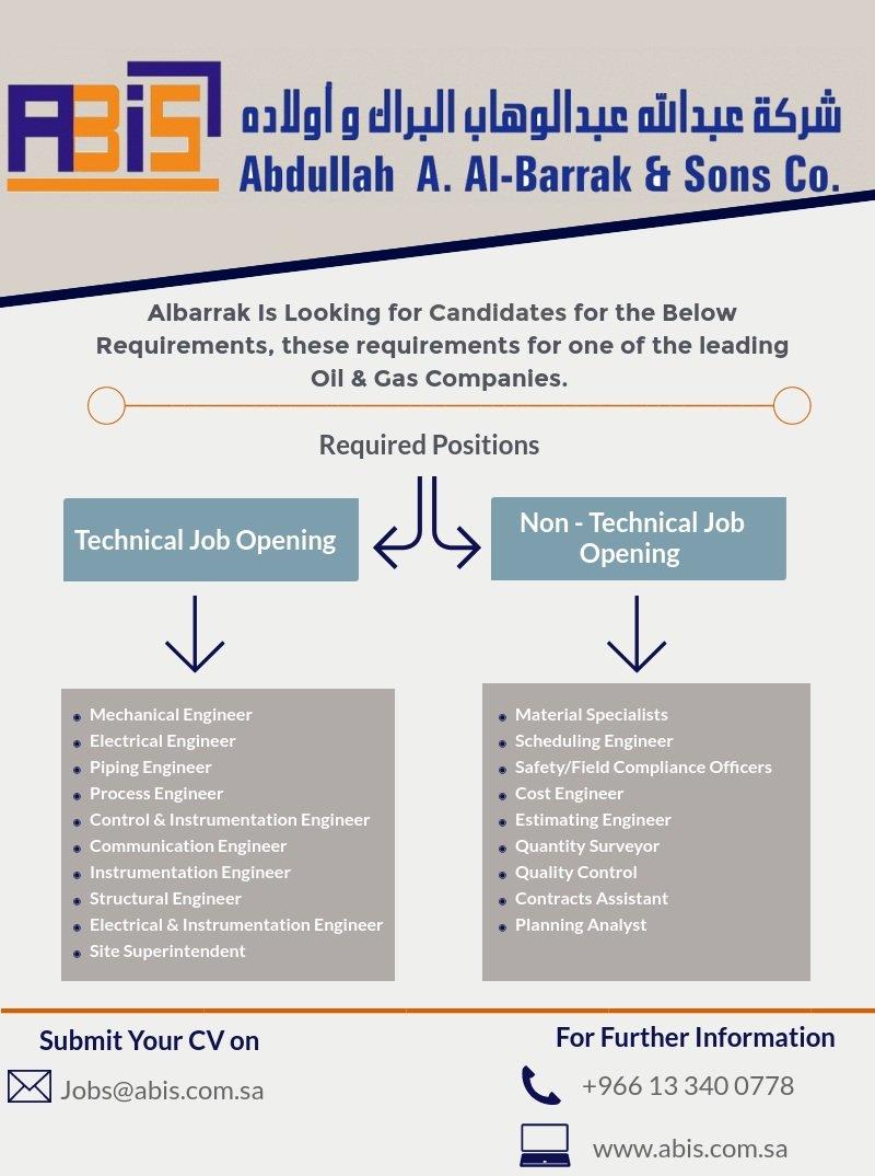 Abdullah A Al Barrak Sons Co