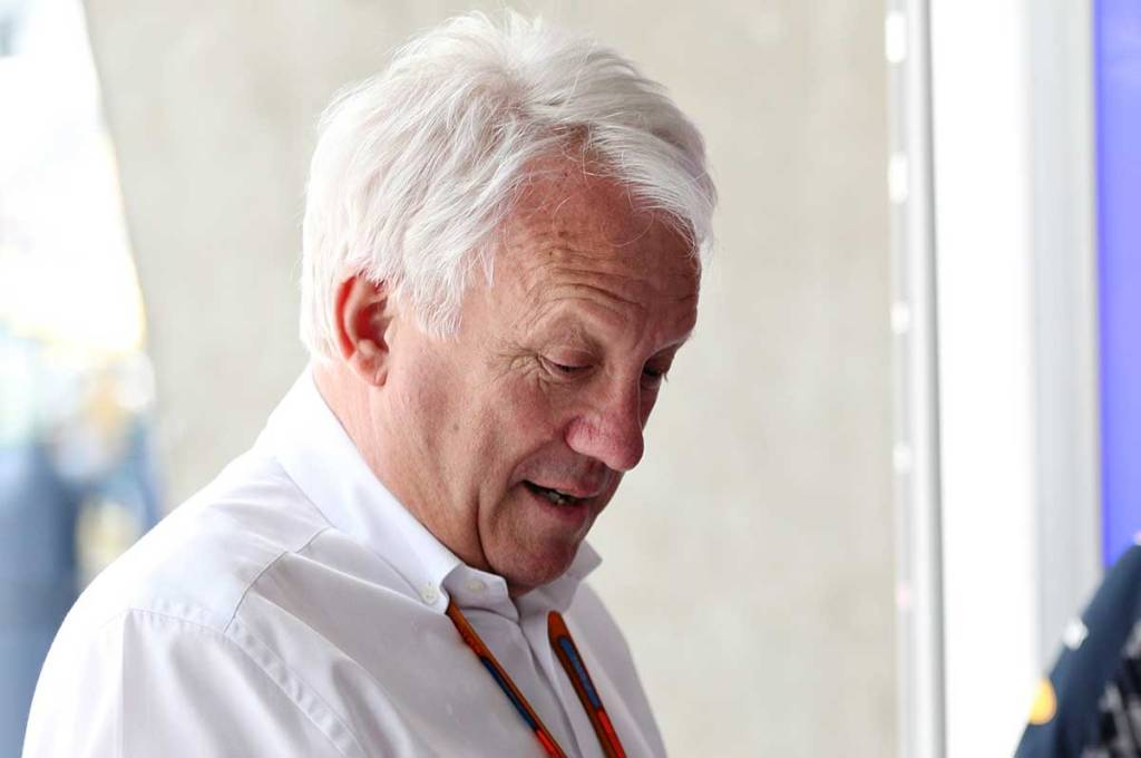Charlie Whiting Gallery: Charlie Whiting - F1 Person