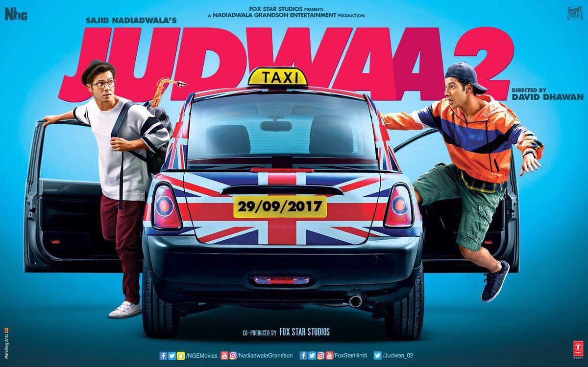 First Look Poster of Judwaa 2 starring Varun Dhawan