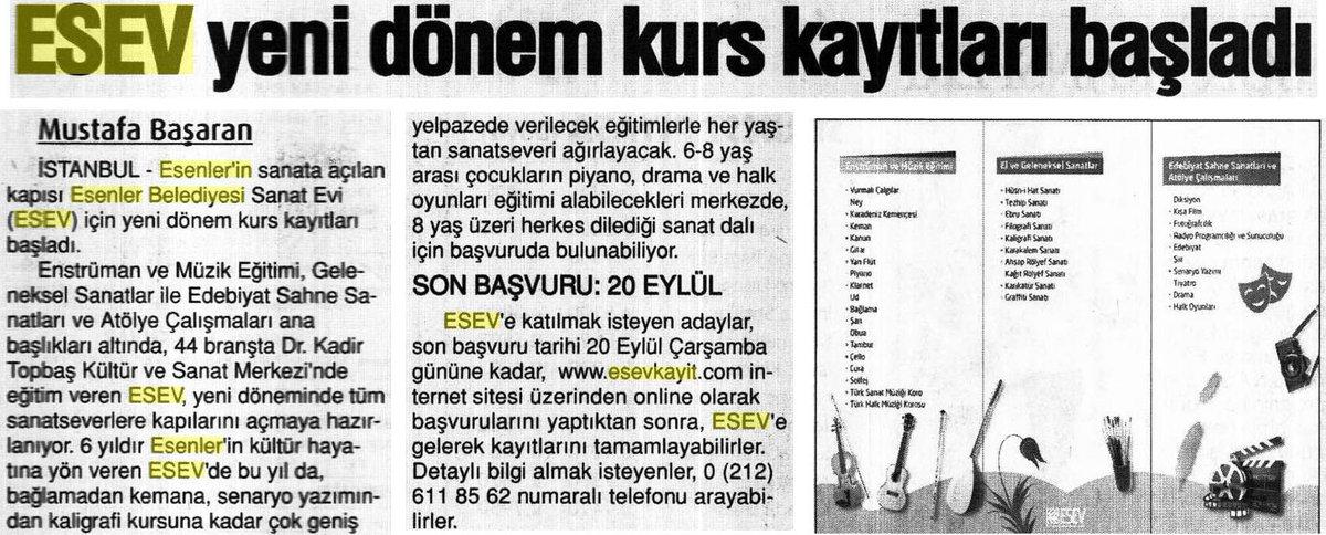 Basında #Esenler Belediyesi. Yeni Çağrı, Ayrıntılı Haber ve İstanbul G...
