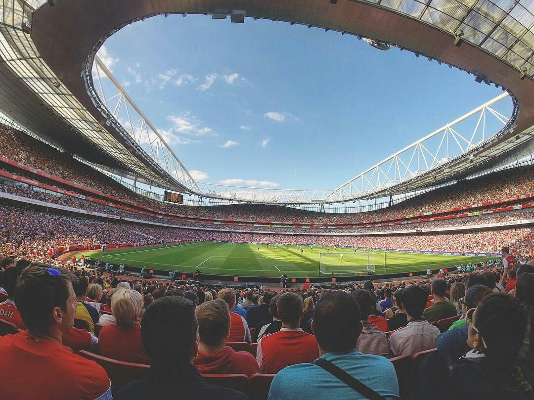 The Emirates Stadium. #Arsenal  <br>http://pic.twitter.com/E60I2bPstI
