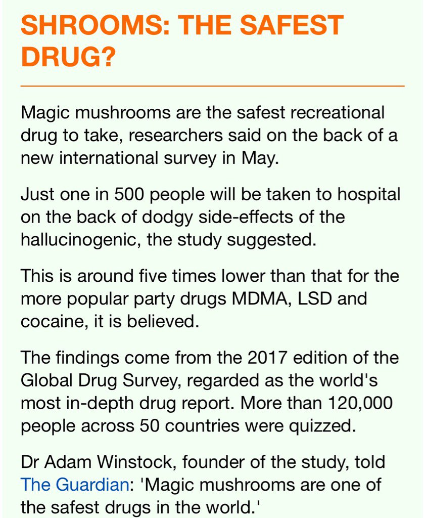 Global Drug Survey on Twitter: