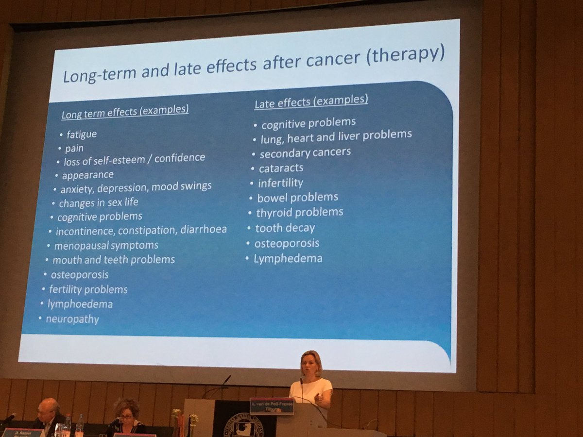 Long-term and late effects #cancersurvivor #IPOS2017 @IPOSPsychoOncol @pbjacobsen<br>http://pic.twitter.com/9m0Hx4vexW