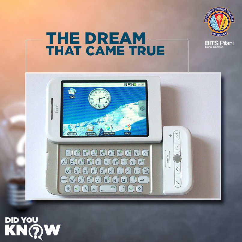 The #HTC #Dream was the world's first android phone. #Android has since had a historic frenzy and popularity. #DidYouKnow #techfacts<br>http://pic.twitter.com/b0bSRwB6zk