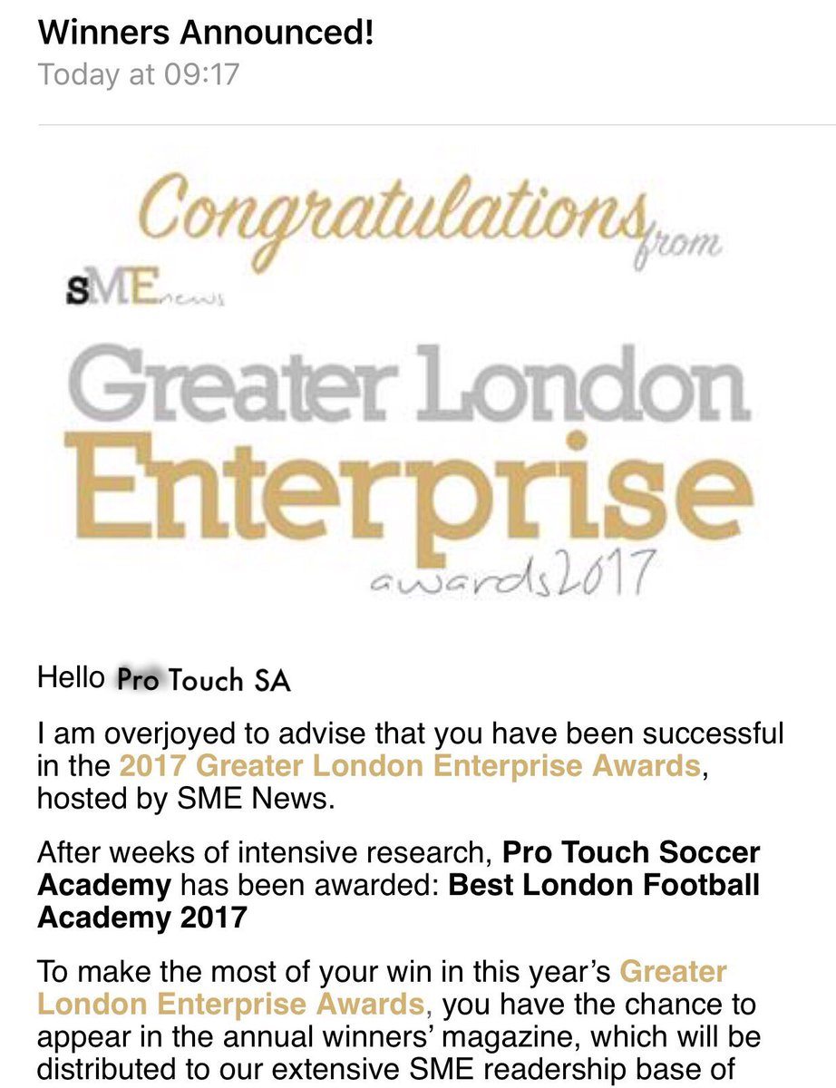 BREAKING NEWS:It&#39;s official Best #London  Academy by #Greater London #Enterprise  THANK YOU to every1 who&#39;s #voted #supported us #2006<br>http://pic.twitter.com/5Fc9dBAyjR