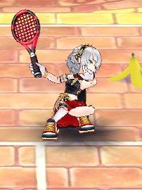 【白猫】白猫テニスにレナ&シオン参戦キタ━━━━(゚∀゚)━━━━!! レナが予想以上にデカい!?パンツ性能も確認!【プロジェクト】
