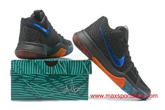 2017 Men s Nike Kyrie 3 id Black Star-blue  BHM http   www.maxsportshop.com 2017-mens-nike-kyrie-3-id-black-starblue-bhm-basketball-shoes-k-312.html  … ... 6f885a662