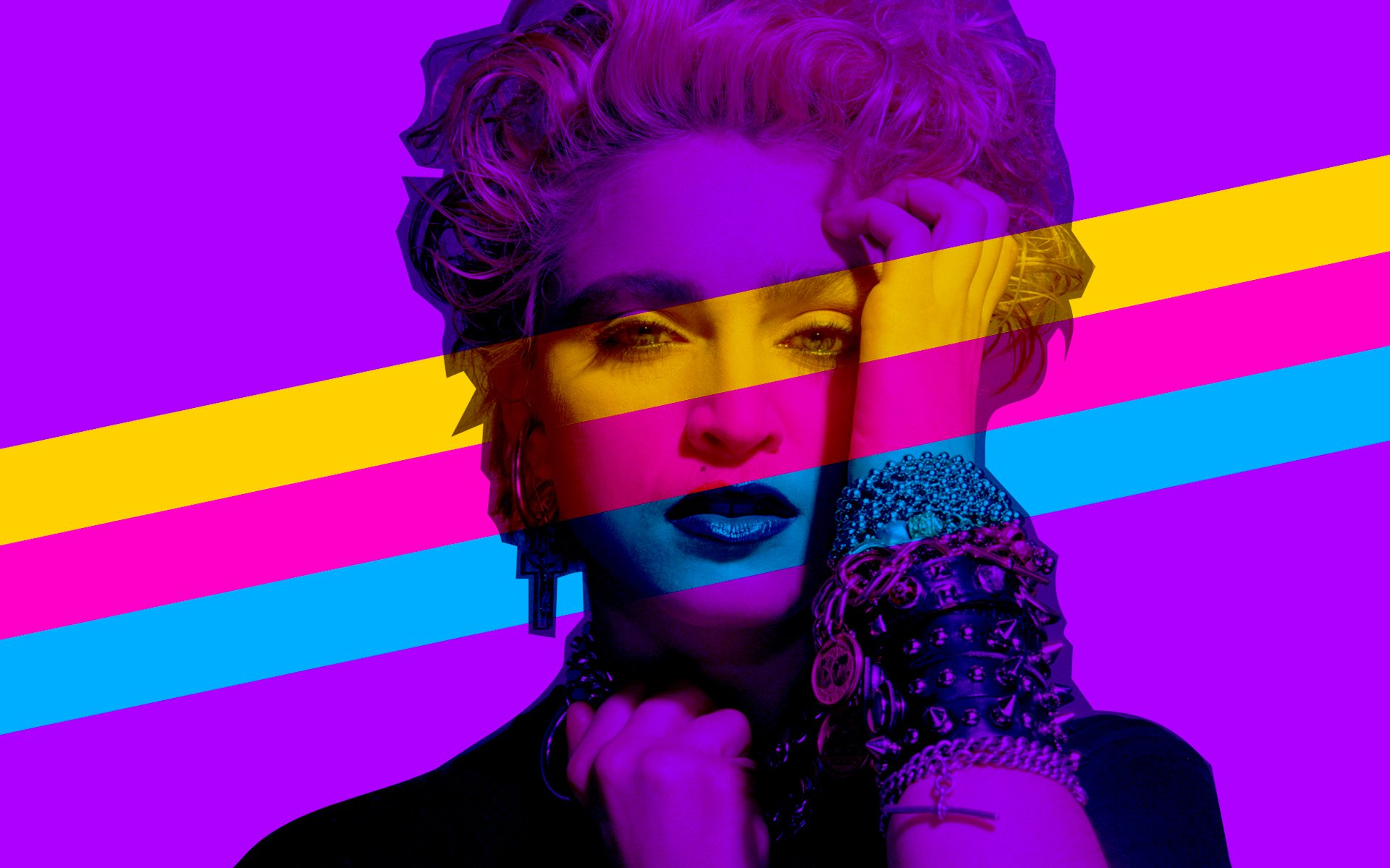 Happy birthday today to the undisputed Queen of Pop Here\s an 80\s megamix