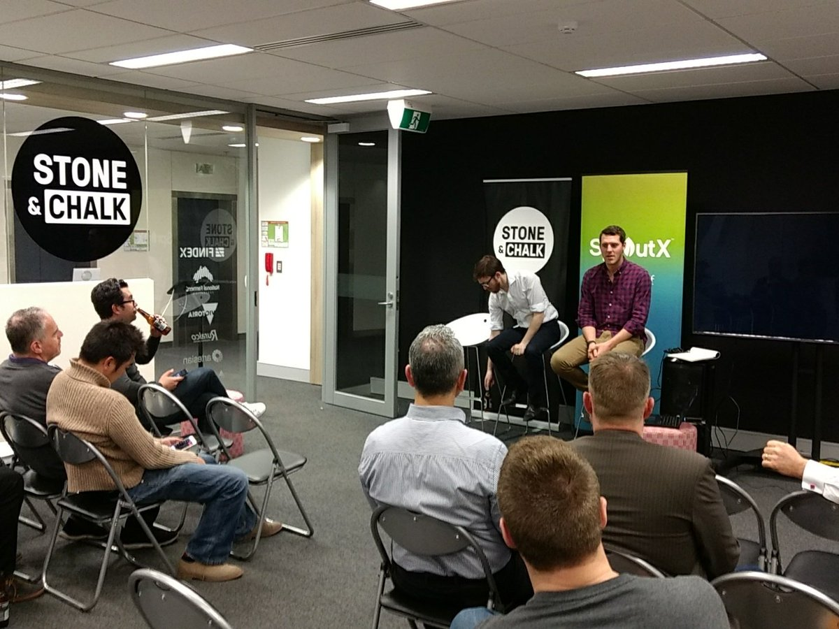@wypler one of the first @stoneandchalk Melbourne guests spreading the good word on @NAB apis