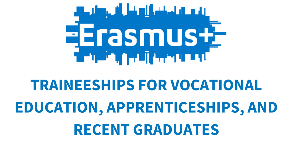 Did you know #ErasmusPlus supports traineeships for students in #VET, apprentices &amp; recent graduates? Find out more:  http:// ec.europa.eu/programmes/era smus-plus/opportunities-for-individuals/trainees/vocational_en &nbsp; … <br>http://pic.twitter.com/WJlAWEvky8