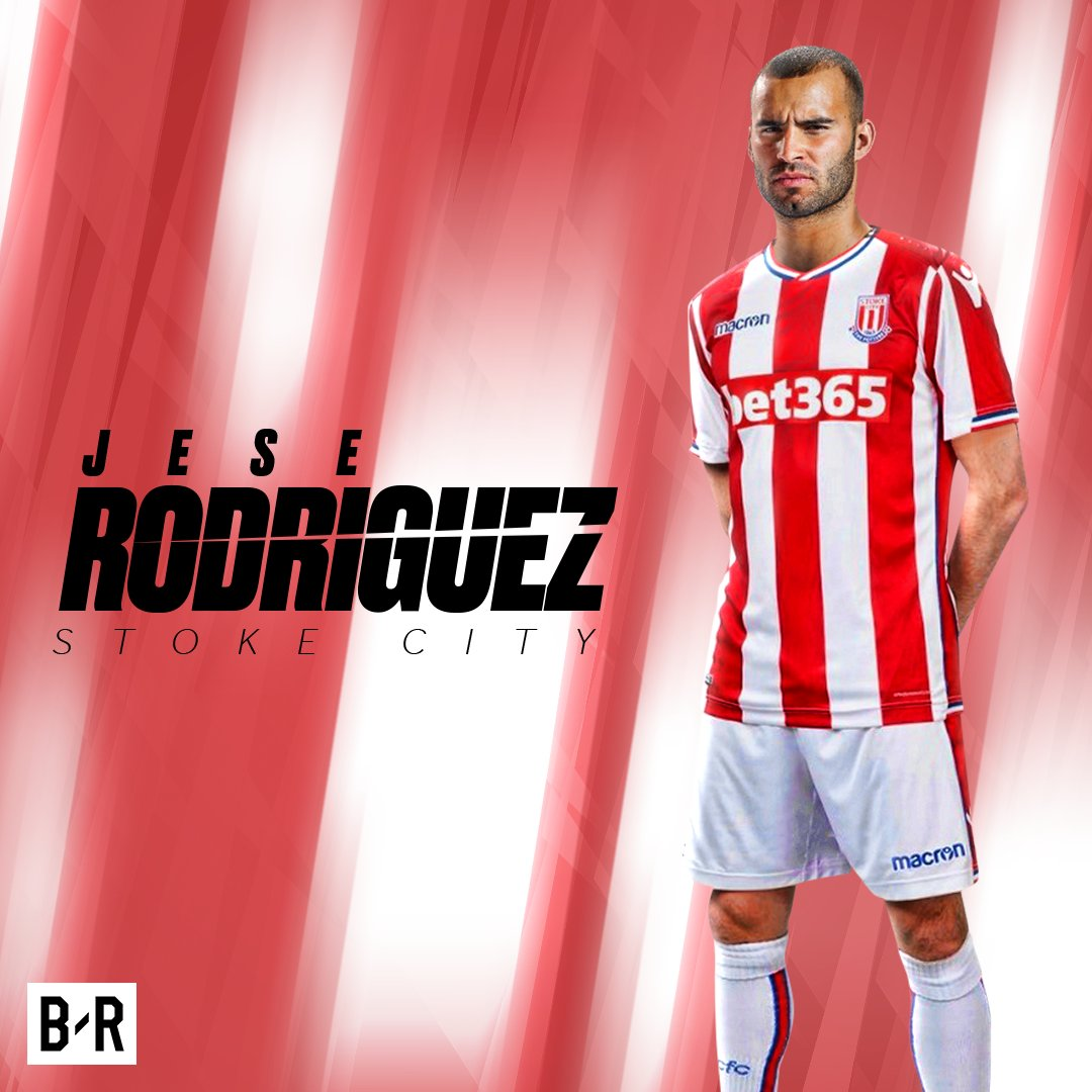 BREAKING: Stoke City have completed the signing of Jese Rodriguez from...