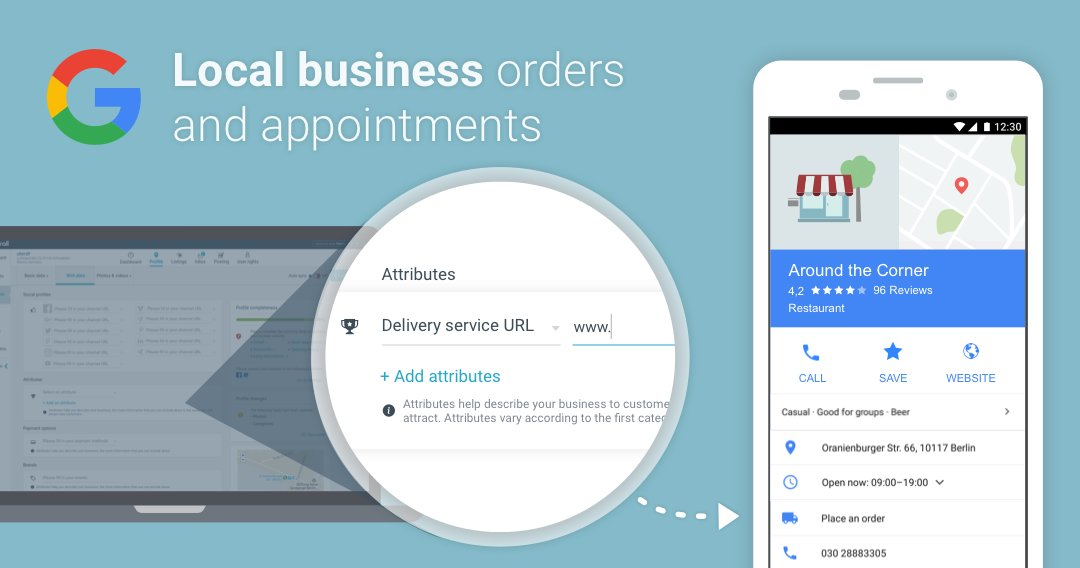 Your very own booking service, directly within #Google Search and #GoogleMaps:  https:// goo.gl/KStKAS  &nbsp;   #LocalPack #LocalSearch #Retail<br>http://pic.twitter.com/nb5G8NFZ1n