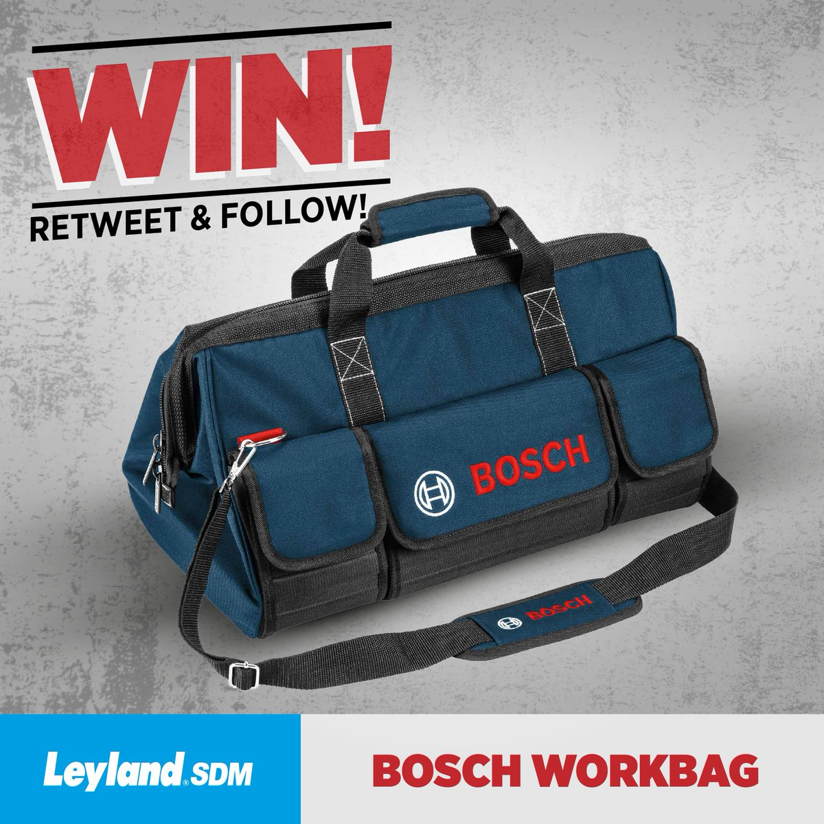 RT &amp; follow guys! Win this @BoschPro_UK workbag. Ends tomorrow at 5pm!! #Power #Tools #DIY #London #Decorating #Win #Prize #WednesdayWisdom<br>http://pic.twitter.com/CTThMujSab