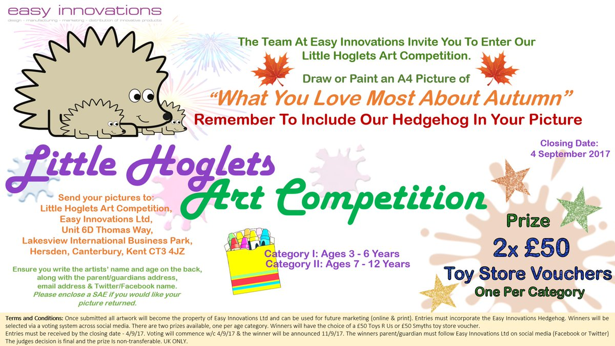 Our #WinItWednesday is just for the kids; They could #win a £50 toy store voucher... See the image for details. #LittleHogletsArt #parents <br>http://pic.twitter.com/asAn5EaIdG