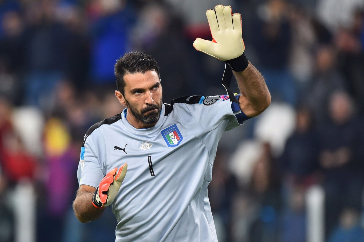 | #Azzurri  Our captain #Buffon is in the running with Ronaldo and Messi for @UEFA Men&#39;s Player of the Year!    http:// bit.ly/2fJY7cj  &nbsp;  <br>http://pic.twitter.com/gM323RLhQz