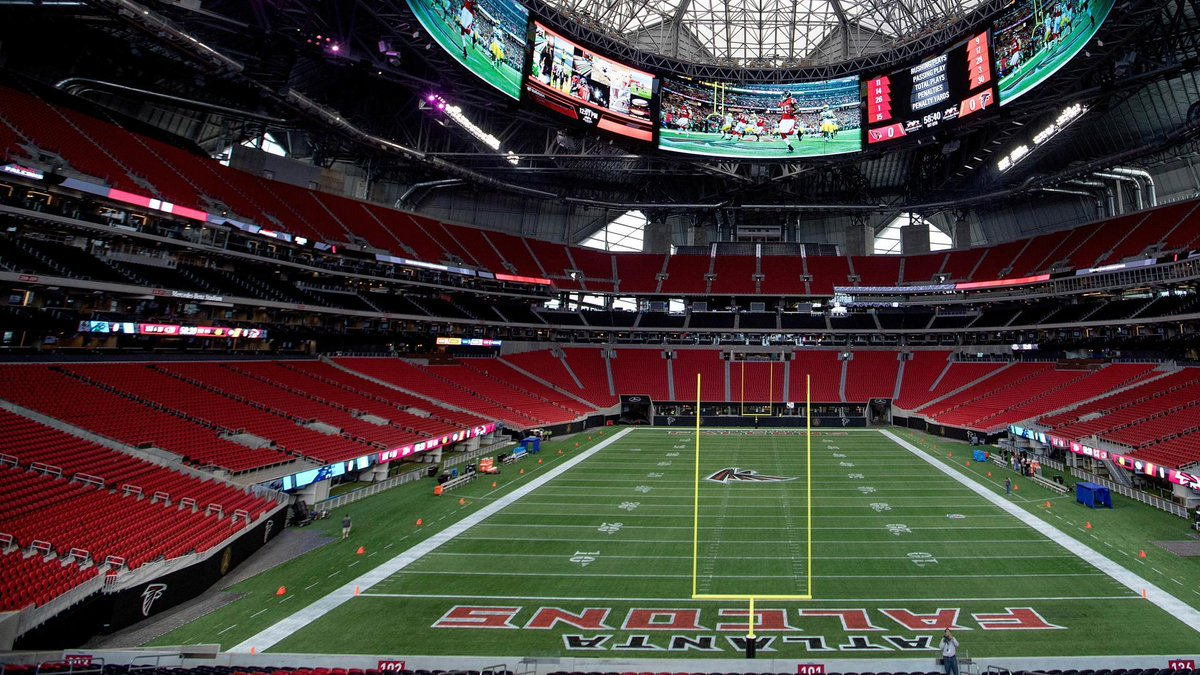 The #Falcons' new stadium has a Chick-fil-A, which won't open on Sundays. https://t.co/jNqMPrpiGm