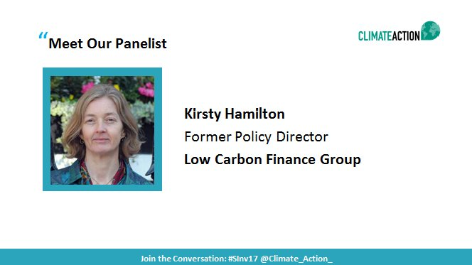 Join Kirsty Hamilton of @ChathamHouse in a conversation on financing #energy transition. Tune in now!   http:// bit.ly/2wMmwCg  &nbsp;    #SInv17 <br>http://pic.twitter.com/bs3HMBUzQt