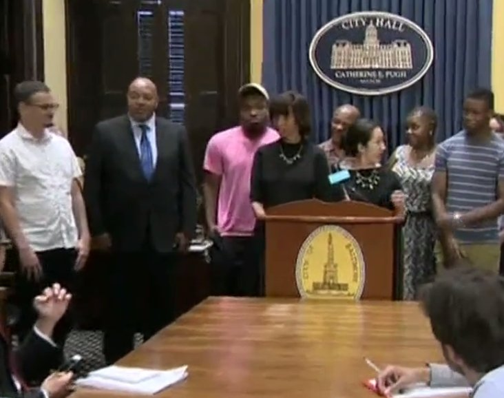 WATCH LIVE: Baltimore mayor Catherine Pugh speaks after Confederate statues taken down overnight in city on @ABC7News FB page.