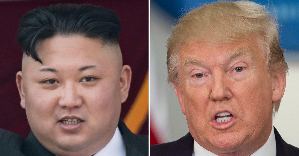 Trump diz que Kim Jong-un tomou decisão 'sábia' sobre plano de lançar mísseis https://t.co/OWlMe5LHtA