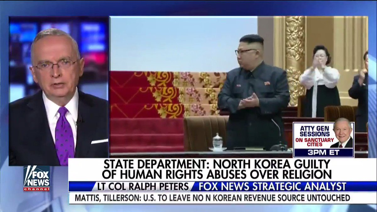 """Lt. Col. Peters: """"We're seeing really a new age of Christian martyrdom around the world: Egypt, Syria, Iraq, Pakistan, China."""""""