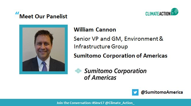 Tune in now to listen to William Cannon of @SumitomoAmerica in a discussion on #lowcarbon energy transition  http:// bit.ly/2wMmwCg  &nbsp;   #SInv17 <br>http://pic.twitter.com/QP0xbeKbcr