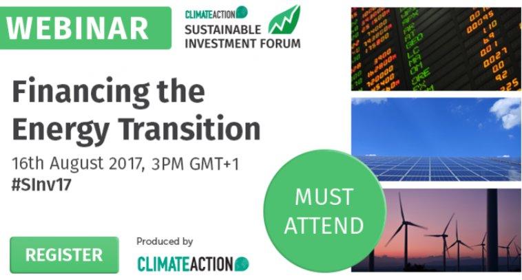 Check out the @Climate_Action_ webinar on Financing the Renewable Energy Transition #SInv17 #UNLEASHLAB2017 #cwnyc  http://www. sustainableinvestmentforum.org/resources/webi nars/financing-the-energy-transition &nbsp; … <br>http://pic.twitter.com/liceIBBwRj