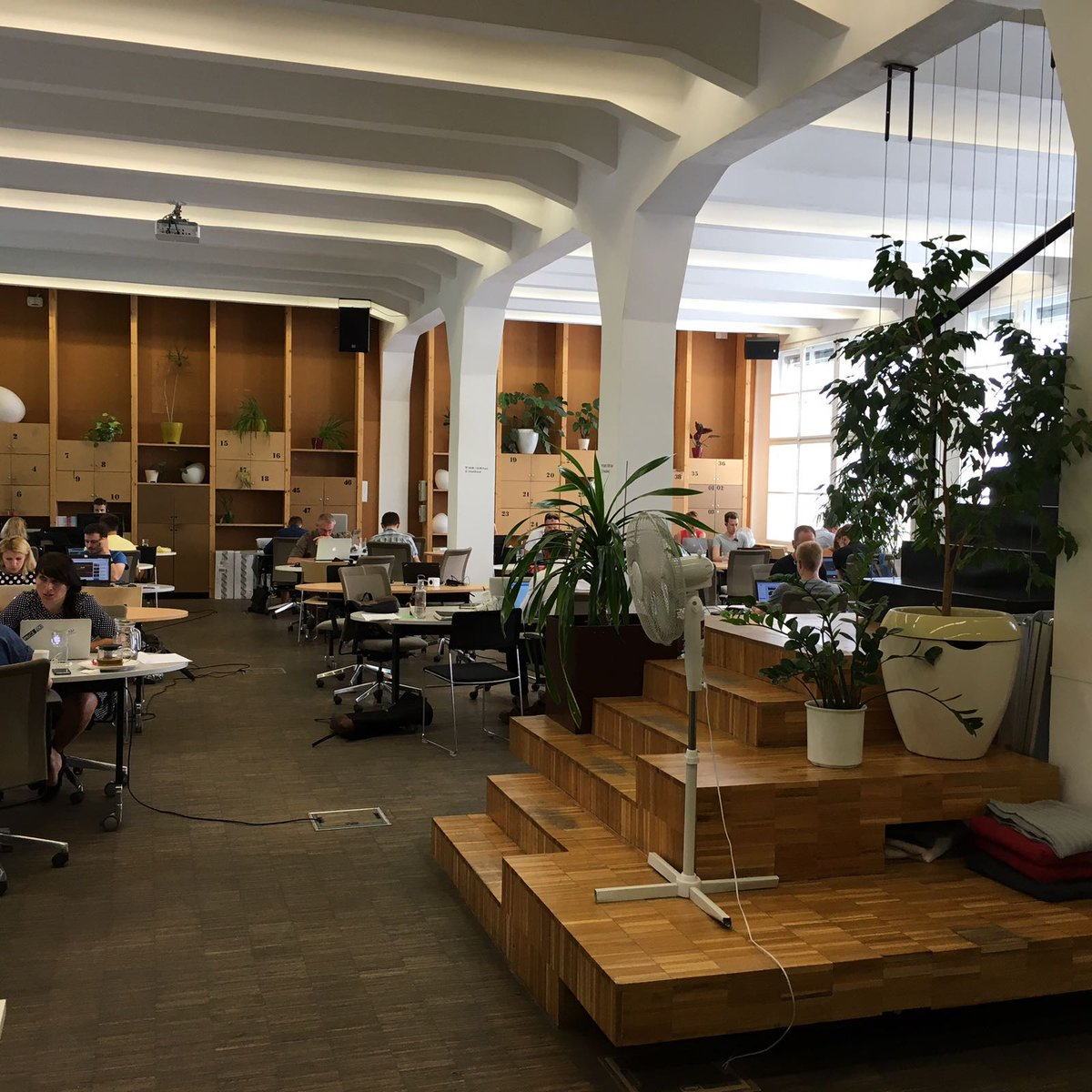 Our chief editor was in #Prague today for interviews with #SocEnt at @ImpactHubPraha. Stay tuned for the story of @forewear in so/magazine!<br>http://pic.twitter.com/pyVsLKmcpJ