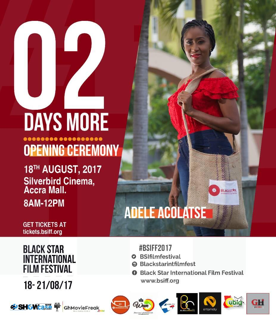 I, ADELE ACOLATSE, humbly invites you to #Bsiff2017,  Grab your tickets now at  http:// tickets.bsiff.org  &nbsp;   #BE THERE!!! <br>http://pic.twitter.com/dgdqnLhjo0