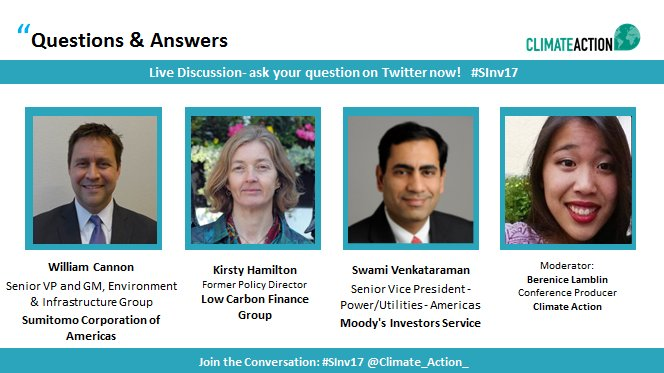 Ask your questions now! Tag them with #SInv17 and join the live discussion! Tune in via  http:// bit.ly/2wMmwCg  &nbsp;  <br>http://pic.twitter.com/khoAJI0ui3