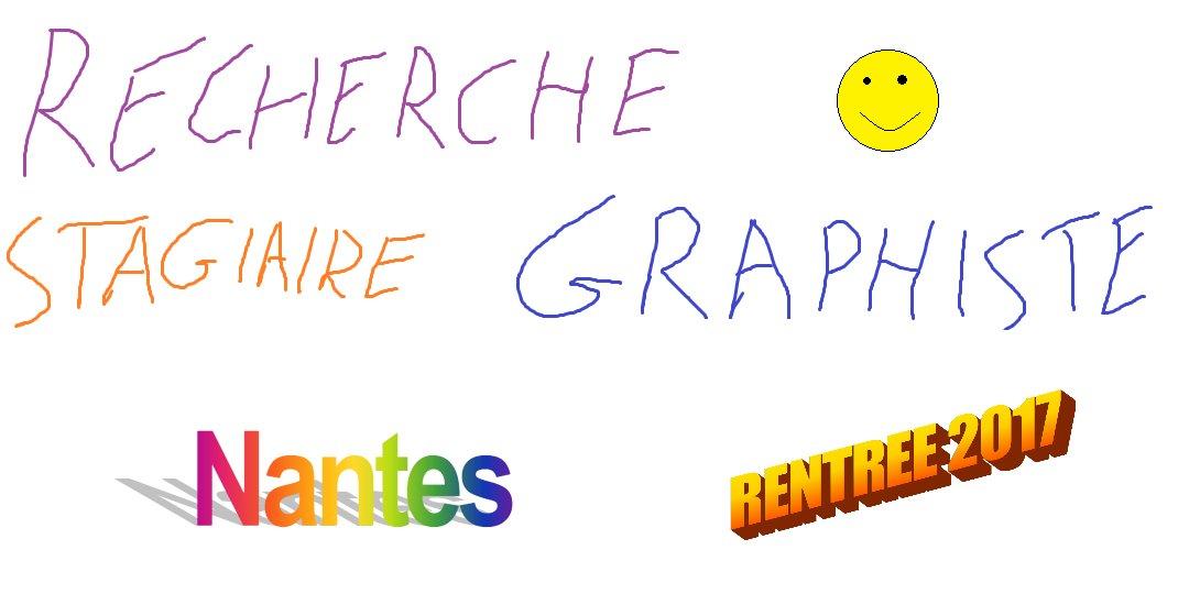 #Stage Nous avons vraiment besoin d'un stagiaire en #graphisme #design  @NantesTech #Nantes  http:// bit.ly/2x3Uxx6    pic.twitter.com/2X741fR33S