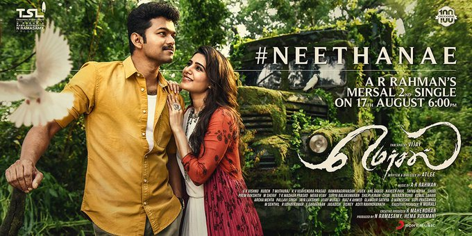 #Neethanae single from tomorrow 6pm https://t.co/CFfzzsMpP4
