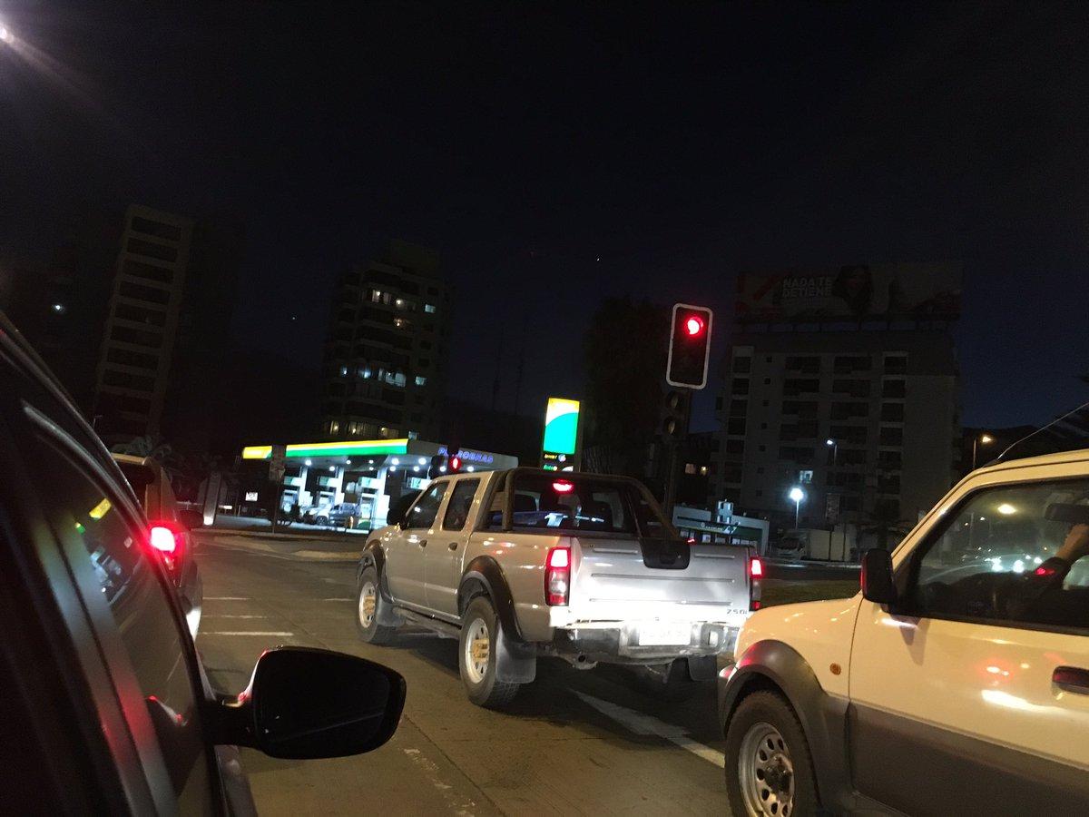 Las 7:35 am en #Antofagasta y aún está de noche #CambioDeHora de veran...