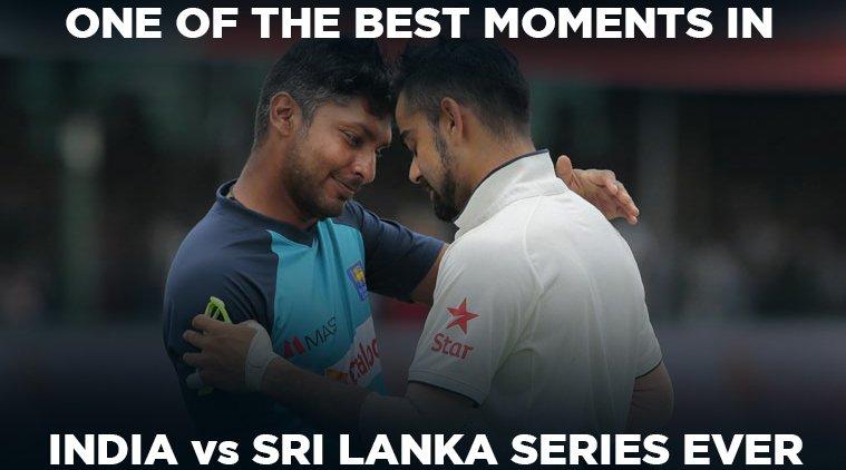 Remember this moment between Virat Kohli and Kumar Sangakkara when the...
